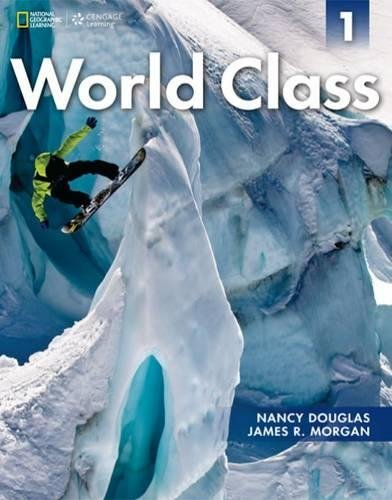 World Class 1: Student Book with CD-ROM (Work Class)