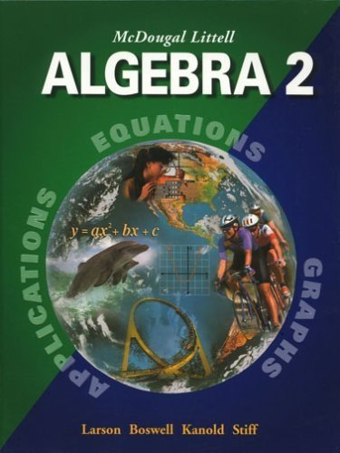 Algebra 2 Chapter Audio Summary Cds (Mcdougal Littell High School Math) por Mcdougal Littel