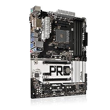 Asrock Ab350 Pro4 Mainboard Mit Chip Schwarz 2