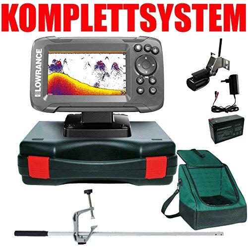 Lowrance Echolot Portabel Master Edition Plus Komplettsystem - Hook2-4X Frequenz-sonar-fishfinder