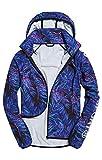 Superdry SD Print Lightweight Jac, Veste de Sport Femme, Multicolore (Tropical Vibe Print OZ1), X-Large