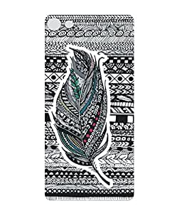Techno Gadgets Back Cover for Micromax Canvas Fire 4G Plus Q412