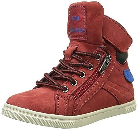 PLDM by Palladium Veleda Wp, Sneakers Hautes Mixte Enfant, Rouge (280 Red), 25 EU