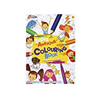A4 Kids Drawing Pad - Colouring Books for Children - 72 sheets 70 gsm