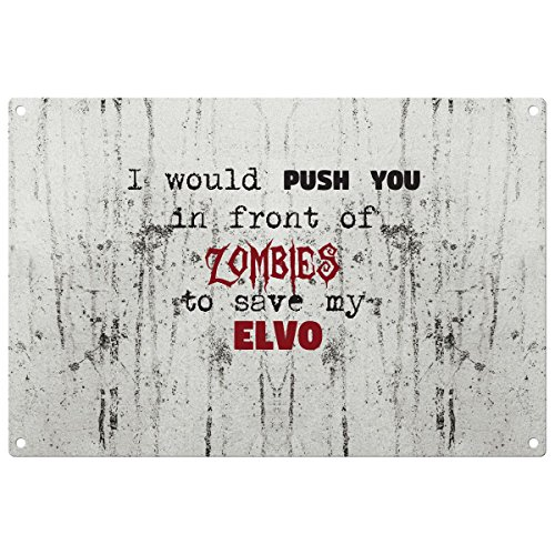 save-my-elvo-from-the-zombies-vintage-decorative-wall-plaque-ready-to-hang