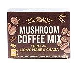 Four Sigma Foods Mushroom Coffee, 10 Cou...