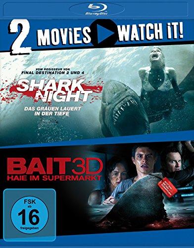 Shark Night / Bait 3D [3D Blu-ray]