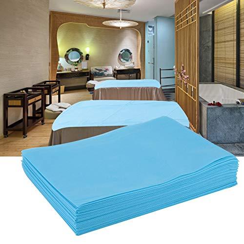 Bettlaken Massage Sofa, Massage Couch Abdeckung, Bettwäsche Wasserdichte Nichtgewebte für Schönheitssalon Massage Tattoo Hotels Einweg Bettlaken für Salon SPA Alberghi Rosa(Blau)