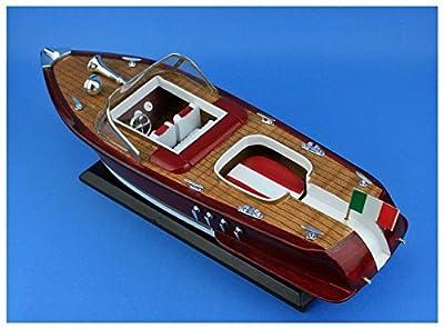 Navyline Holz Modellschiff - Italienisches Motorboot von Navyline
