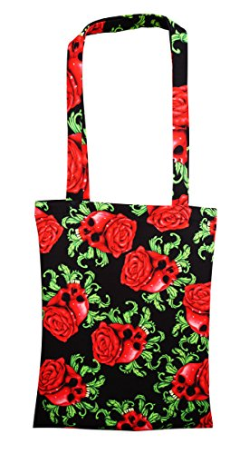 Insanity Clothing, Borsa tote donna Nero