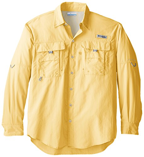 Columbia-angeln-shirt (Columbia Sportswear Men's Bahama II Long Sleeve Shirt, Sunlit, 1X)