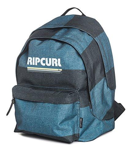 Rip Curl Modern Retro Double Dome - Mochila tipo casual, color azul, 22 litros