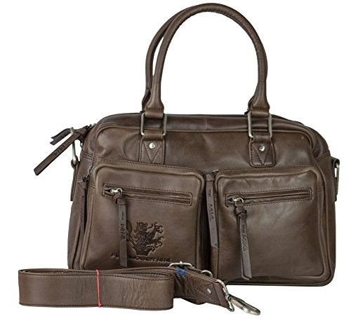 Feldmoser 1414, Borsa a mano donna Marrone (Dark Brown)