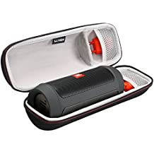 LTGEM para JBL Charge 2 Caso & Charge 2+ Carrying Wireless Bluetooth Speaker de carga de almacenamiento Llevar bolsa de viaje con el bolsillo de malla para Plug & Cables