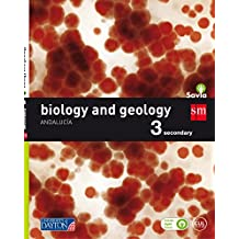 Biology and geology. 3 Secondary. Savia. Andalucía - 9788416730483