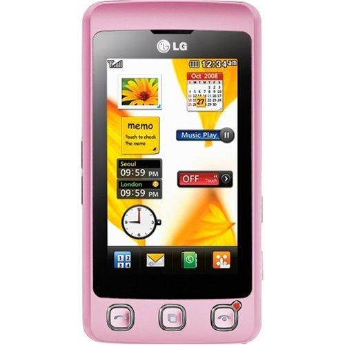 LG KP500 Cookie (3MP Kamera, MP3) pink Smartphone