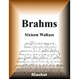 Brahms Sixteen Waltze Op39 for Piano Solo (Japanese Edition)