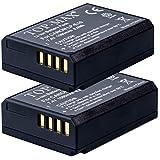 TOP-MAX ® 2 LP-E10 Batería para Canon EOS 1100d, EOS 1200d, EOS 1300d, EOS Rebel T3, Rebel T5, EOS Kiss X50, EOS 1200d Digital SLR Cámara