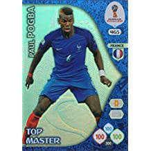 Adrenalyn XL FIFA World Cup 2018 Rusia – Paul Pogba Top Master Trading Card – Francia