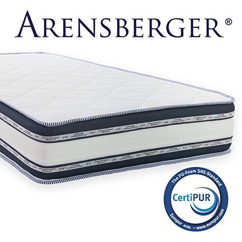 *Arensberger ® Relaxx 9 Zonen Wellness Matratze mit 3D-Memory Foam, 90cm x 200cm, Höhe 25cm, Raumgewicht 50 kg/m³, drei Schichten: Kaltschaum + Visco Smart Schaum + Gel Schaum*