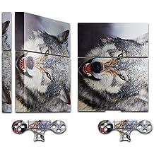 Colección 15, Custom consola PS4Diseño Skin adhesivo de vinilo Wild Animals 10009 PS4 Sticker