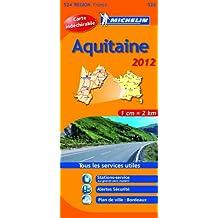 Carte REGION Aquitaine 2012
