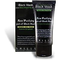 Shills Black Mask Mascarilla Exfoliante y Limpiadora contra Puntos Negros y Acné