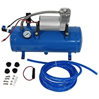 Zerone Bomba del Compresor de Aire, Inflador del Neumático del Compresor de Aire de 150psi