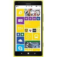 "Nokia Lumia 1520 SIM única 4G 32GB Amarillo - Smartphone (15,2 cm (6""), 32 GB, 20 MP, Windows Phone, 8, Amarillo)"