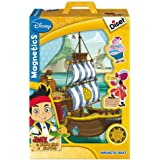 Diset - 46547 - Jeu Educatif - Magnetics Silhouette Jake & Les Pirates