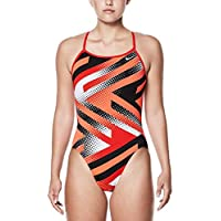 819ea40872f40 Nike Women's Swim Performance Tidal Riot Modern Cut One Piece