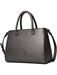 Kadell Vintage morbida pelle borsa del Tote della cartella a tracolla maniglia superiore borsa delle donne