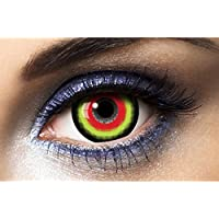 Fashion Lentilles - Le50083 - Lentilles Mini Sclera 17mm Hannibal Duree 1 an