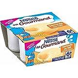 Nestlé p'tit gourmand dessert semoule au lait 4x100g dès 6 mois - ( Prix Unitaire ) - Envoi Rapide Et Soignée
