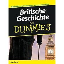 Britische Geschichte fur Dummies (F??r Dummies) by Se??n Lang (2009-05-13)