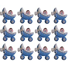 12 bebes cochecito Porcelana Fria Bautizo, Nacimiento, Baby Shower, Niño, Niña handmade