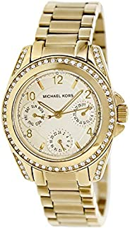 Michael Kors Blair Women's White Dial Stainless Steel Band Watch - MK
