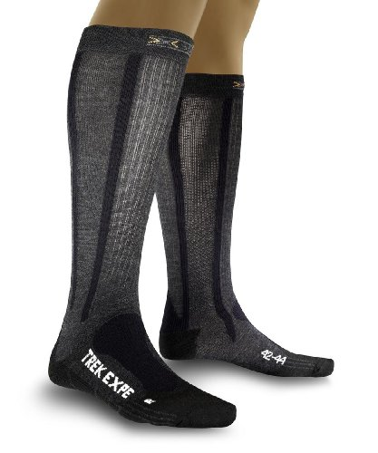 X-Socks Funktionssocken Trekking Expedition Long, Anthracite, 39/41, X020013