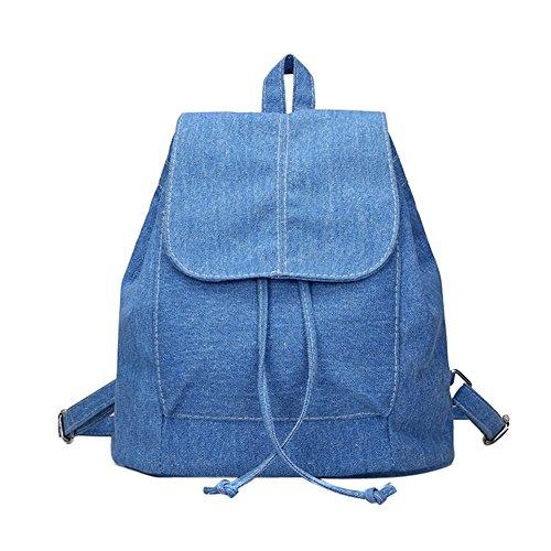 Imagen de mefly caliente!!!la primavera y el verano de nuevo vaquero retro mujer  college wind  vintage satchel,02