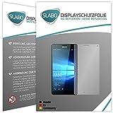 2 x Slabo pellicola protettiva per display Microsoft Lumia 950 XL protezione display No Reflexion Anti-Riflesso OPACA - senza riflesso MADE IN GERMANY