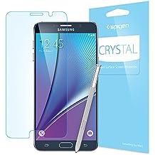 Spigen Film Crystal CR - Protector de pantalla para Samsung Galaxy Note 5, transparente