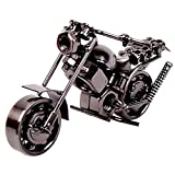 AMOYER Eisen-Motorrad-Modell Aus Metall Dekorative Handwerk Motor Figurine Motorrad Miniaturen Für...