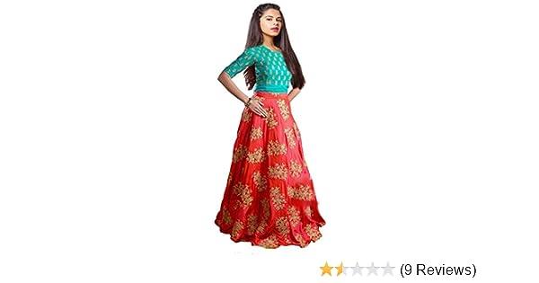 083988149 Myozz Kids Girl s Birthday Party Wear Semi Stitched Salwar Suit Gown ...