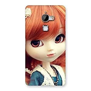 Delighted Tiny Baby Girl Multicolor Back Case Cover for LeTv Le Max