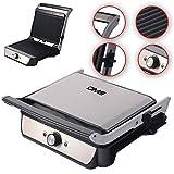 Kontaktgrill XXL Elektrogrill Tisch Grill Sandwich Maker Toaster 2000 W KG03 DMS®