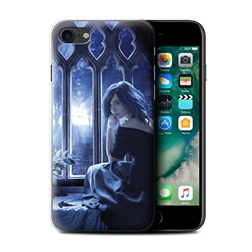 Officiel Elena Dudina Coque / Etui pour Apple iPhone 7 / Feuilles séchées Design / Art Amour Collection Feuilles séchées