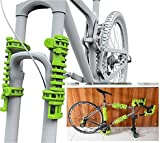 Bopworx Large Bopwraps - Detachable Bicycle Travel Protection System - Protects Bike Frames and Pedals During Transportation - x2 units