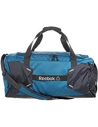 Reebok OS M 48L Grip Bolsa de Deporte, Niños, Turquesa (Emetid), Talla Única