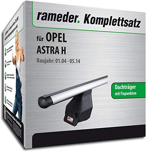 Rameder Komplettsatz, Dachträger Tema für OPEL Astra H (118785-05098-12)