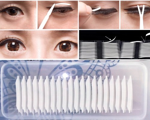 Bonamart 30 Pairs Of Adhesive Invisible Double Eye Eyelid Tape Sticker Cosmetic Makeup